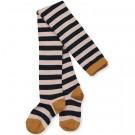 Gestreepte kousenbroek met glitter - Silje lurex stripes rose- navy