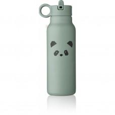 Muntgroene drinkbus met pandasnoet - Falk water bottle 350 ml panda peppermint [backtoschool]