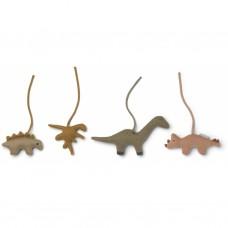 Activiteitenspeeltjes met dino's - Gio playgym accessories dino golden caramel/multi mix