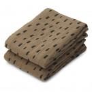 Set van 2 tetradoeken met vlekjes - Lewis muslin cloth 2 pack graphic stroke/khaki