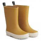 Gele regenlaarzen met streep - River rain boot yellow mellow / creme de la creme mix