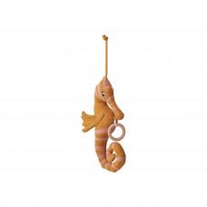 Gebreide muziekmobiel zeepaardje - Angela music mobile seahorse mustard
