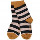Gestreepte sokjes - silas lurex socks - maat 19/21 - 1y (Geboortelijst Odette J.)