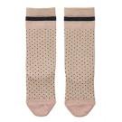 Gestipte kniekousjes  - sofia knee socks dots - maat 17/18 - 0/6m (Geboortelijst Anouk B.)