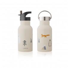 Beige drinkbus met print - Anker water bottle arctic mix