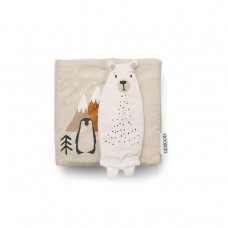 Stoffen knisperboek - Benny fabric book artic mix