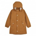 regenjas Spencer long raincoat mustard