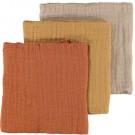 Set van tetradoeken - Nbnisley 3 pack nappies lil humus
