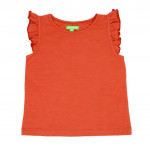 T-shirt met ruches - Eline top canyon chili