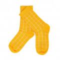 Gele sokken raster - Nico socks citrus