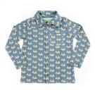 Hemdje met lange mouwen met dennebomen - shirt guust pinetrees - maat 74 (Geboortelijst Sem D. B.)