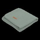 Muntgroen ledikantdeken - Blanket pure mint