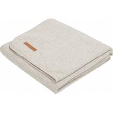 Grijs wiegdeken  -  blanket pure grey