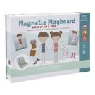 Magnetisch spelbord - Dress up Jim & Rosa
