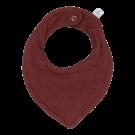 Bordeaux bandana - Bandana bib pure indian red