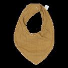 Okergele bandana - Bandana bib pure ochre