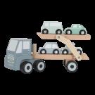 Houten transportwagen