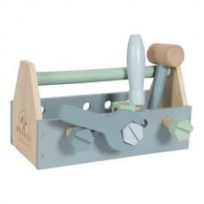 Houten gereedschapskist - Wooden toolbox