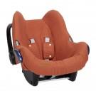 Roestkleurige beschermhoes voor autostoel groep 0 - Car seat cover pure rust 0+