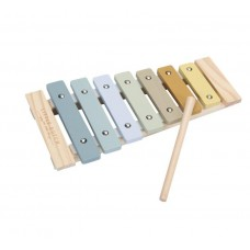 Houten xylofoon - blauw