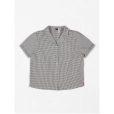 Geruit hemdje - Blouse short sleeve small vichy antra