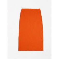 Oranje lange rok - Long skirt flamee fiesta red - Dames