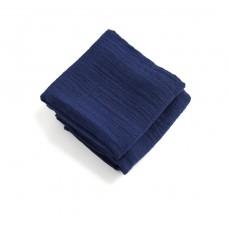 Set van 2 blauwe tetradoeken indigo