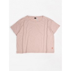 Oudroze oversized t-shirt - T-shirt oversized flamee pink sand dames