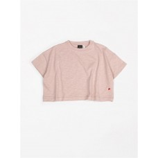Oudroze oversized t-shirt - T-shirt oversized flamee pink sand