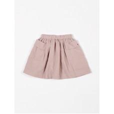 Oudroze hydrofiele rok - Skirt pockets tetra pink sand (**)