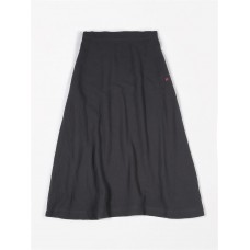 Antracietgrijze hydrofiele wijde rok dames - Siska - Skirt wide tetra antra