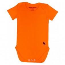 Oranje body korte mouwen - Mambotango