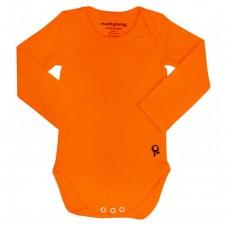 Oranje body lange mouwen - Mambotango