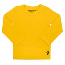 Gele t-shirt lange mouwen - Mambotango