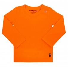 Oranje t-shirt lange mouwen - Mambotango
