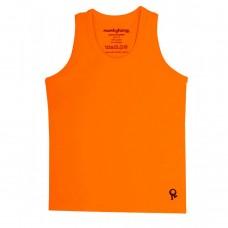 Oranje mouwloze t-shirt - Mambotango