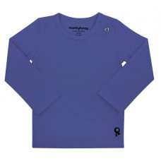 Blauwe t-shirt lange mouwen - Mambotango