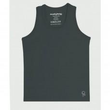 Grijze mouwloze t-shirt - Mambotango