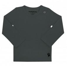 Grijze t-shirt lange mouwen - Mambotango