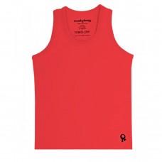 Rode mouwloze t-shirt - Mambotango