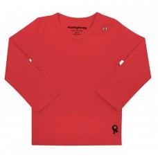 Rode t-shirt lange mouwen - Mambotango