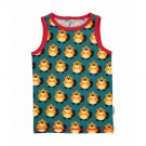 Mouwloos shirtje- marcelleke met bevers - tanktop beaver