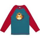 T-shirt met bever- top beaver