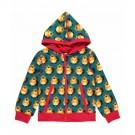 Petrolblauwe hoodie met bevers - hoodie beaver