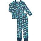 Tweedelige pyjama met ruimtewezens- pyjama set space ship