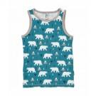 Mouwloos shirtje- marcelleke met ijsberen - tanktop polar bear