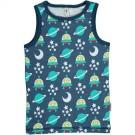 Mouwloos shirtje- marcelleke met ruimtewezens - tanktop spaceship