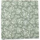 XL-tetradoek - Whimsy floral (Green)