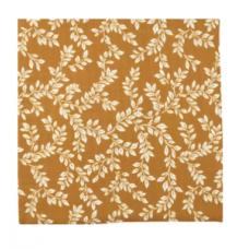 XL-tetradoek - Leafy Sprig (Mustard)