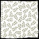 XL-tetradoek - Leaves (Sage green)